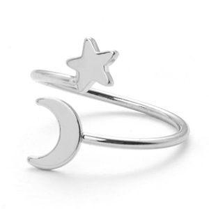**NEW** STAR- MOON RING